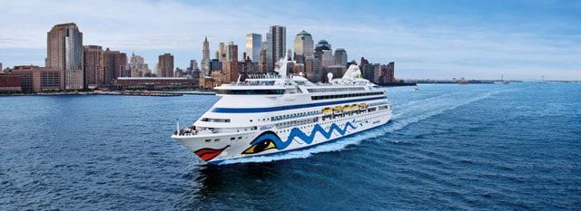 AIDA luna Kreuzfahrt ab New York